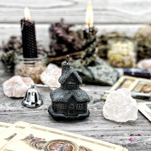 ВОЛШЕБНЫЙ ДОМ, магическая чёрная свеча
