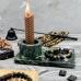 Подсвечник из змеевика для зарядки амулетов