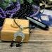 Серебряная лунница для привлечения денег и защиты, с агатом